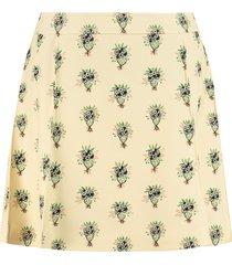 chloé printed skirt