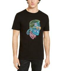 karl lagerfeld paris men's karl neon sketch t-shirt