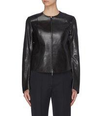 'saori' leather jacket