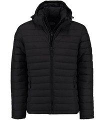 jas hooded zwart