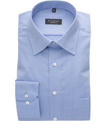 eterna shirt lichtblauw comfort fit