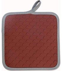 apoio brinox para panelas/luva glacê chocolate