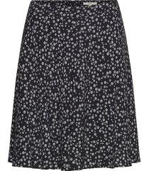 skirts light woven knälång kjol svart esprit casual