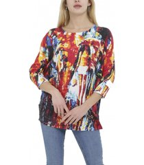 sweater abstract multicolor zagora