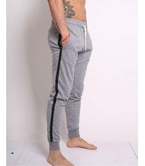 pantalón gris vilo tiras