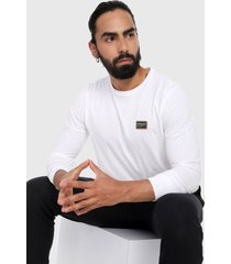 camiseta manga larga blanco-multicolor oakley factory pilot ls.
