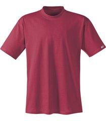 t-shirt met halflange mouw, wijnrood 4