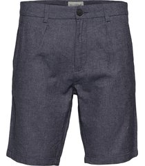 bs boulders tailored shorts chinos shorts blå bruun & stengade