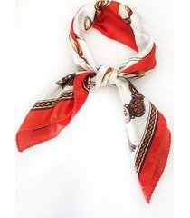 pañuelo raso combinado cadenas ba975-33