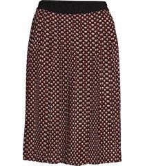sommer skirt knälång kjol röd masai