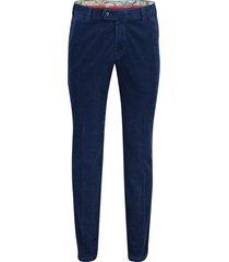 meyer pantalon bonn flatfront donkerblauw