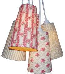 iluminação crie casa cacho romance floral