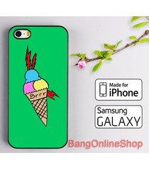 ice cream brrr gucci mane cover iphone 7 7+ 6 6s 6+ 6s+ 5 5s samsung s8 s8+ case