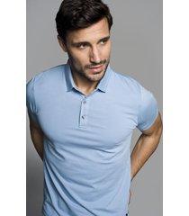 koszulka polo milo błękit
