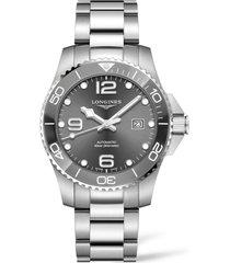 longines hydroconquest automatic bracelet watch, 43mm