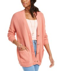 roxy juniors' skippin the line 2 cardigan