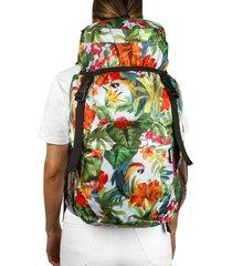 morral viajero plegable estampado verano citybags multicolor