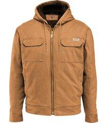 wolverine men's lockhart jacket b & t whiskey, size 4x