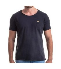 camiseta clothis gradient pocket relax masculina
