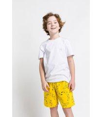 pijama e camisola acuo pijama e camisola amarelo - amarelo - menino - dafiti