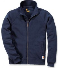 carhartt vest men midweight mock neck zip sweatshirt new navy-xl