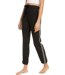 jenni metallic stripe pajama pants, created for macy's
