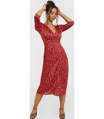 glamorous v neck printed dress loose fit dresses