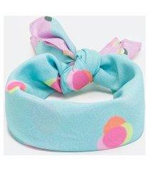 bandana em tecido estampado | accessories | multicores | u