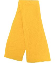 botto giuseppe lightweight cashmere scarf - yellow