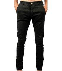 pantalón negro buxter chino