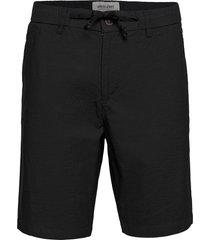 akjens lt elastic shorts shorts casual svart anerkjendt