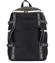emporio armani duffle bag backpack - blue