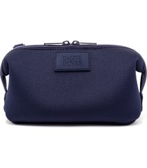 dagne dover small hunter neoprene toiletry bag, size one size - storm