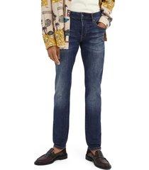 men's scotch & soda ralston jeans, size 33 x 32 - blue