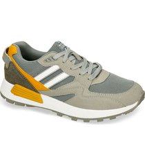 tenis casuales verde north star afrojack hombre