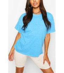 washed oversized t-shirt, aqua