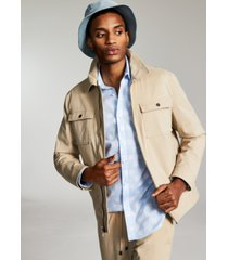 inc international concepts men's regular-fit stretch twill jacket, created for macy's