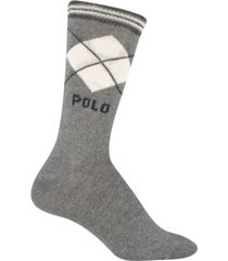 polo ralph lauren women's argyle crew socks