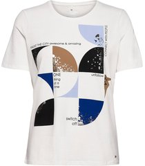 t-shirt short-sleeve t-shirts & tops short-sleeved vit gerry weber edition