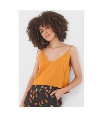 regata cropped dress to textura amarela