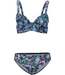 bikini con ferretto (set 2 pezzi) (nero) - bpc bonprix collection