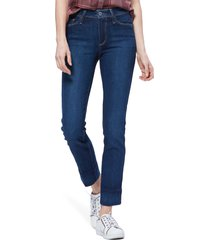 women's paige hoxton high waist ankle slim fit jeans