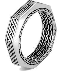 men's john hardy men's classic chain band ring