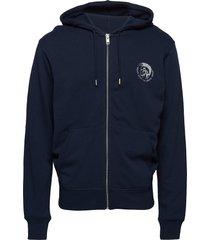 umlt-brandon-z sweat-shirt hoodie trui blauw diesel men