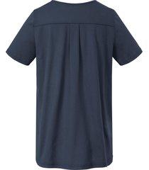 shirt van green cotton blauw