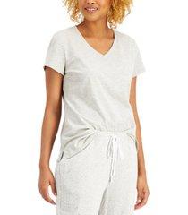 charter club v-neck pajama t-shirt, created for macy's