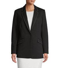 outline-stitched jacket