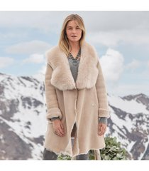 northern woods shearling coat