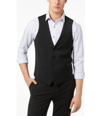bar iii men's slim-fit active stretch performance vest, created for macy's