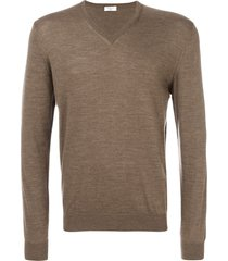 fashion clinic timeless knitted sweater - brown
